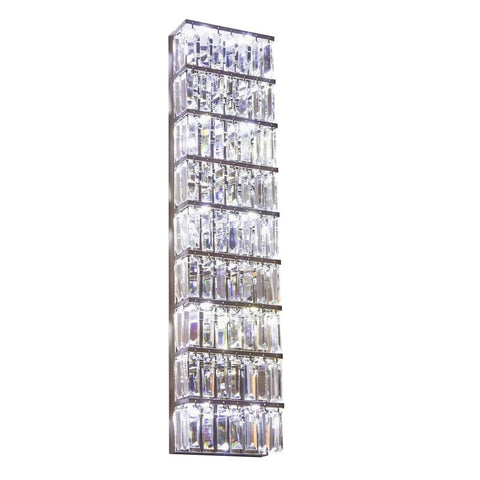 Luksus Cystal -Glass Wall Sconce