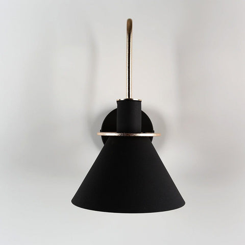 Oklak Black - Light Fixture On Wall
