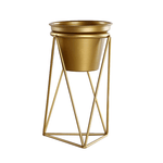 Skepp Gold - Flower Pots for Home