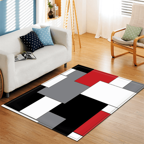 Bly Rug For Living Room Area Red