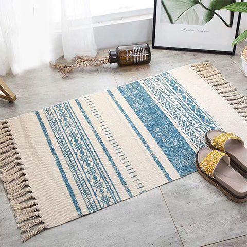 Ethnika Rug For Living Room Area Beige