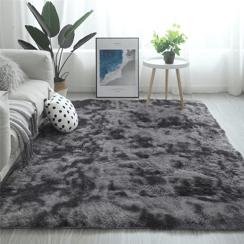 Figur Rug For Living Room Area Black