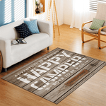 Flyga Rug For Living Room Area Brown