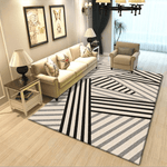 Kärlek Rug For Living Room Area Black And White