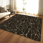 Stad Rug For Living Room Area Black