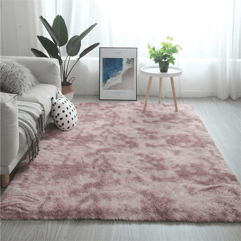 Vänta Rug For Living Room Area Pink