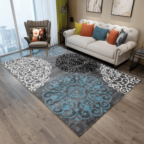 Vokal Rug For Living Room Area Gray