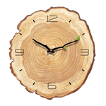 äta Wall Clock In Wood Wood