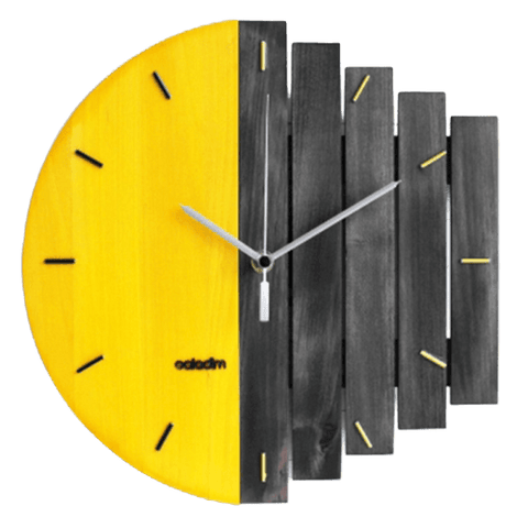 berg Wall Clock In Wood Wood