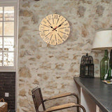 large wood wall clocks