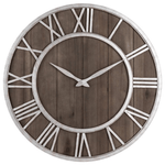 klocka Wall Clock In Wood Wood