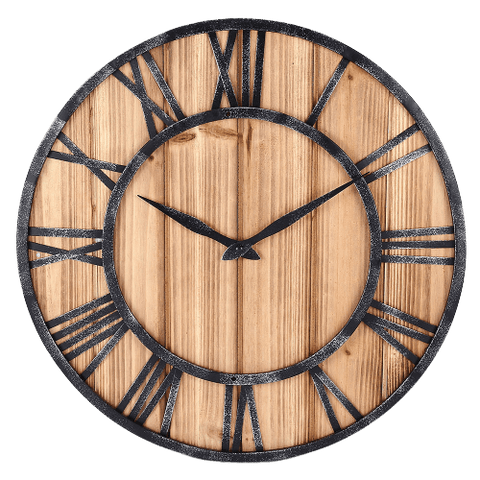 snitt Wall Clock In Wood Wood