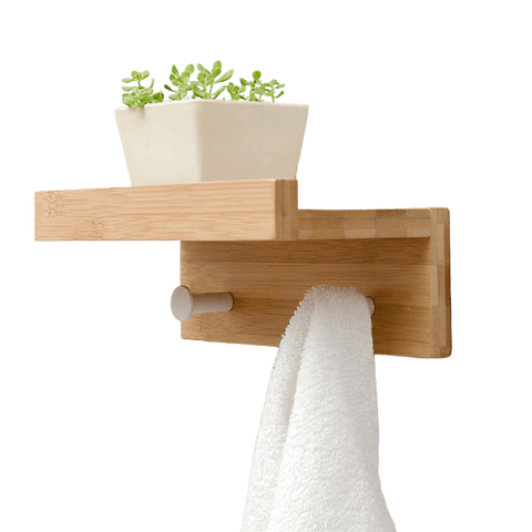 Ansikte Wall Shelf And Ledge Wood