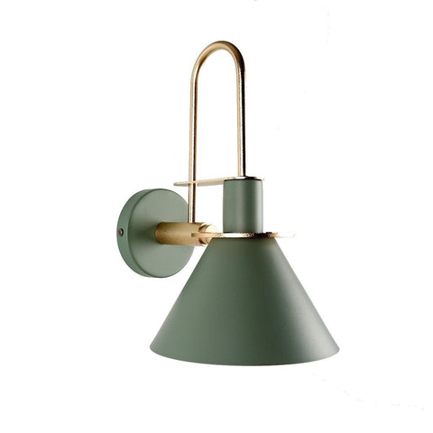 Oklak Green - Light Fixture On Wall