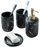 Snöbad - Black Accessories For Bathroom