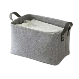 Tvättkorg Grey - Furniture For Bathroom Storage