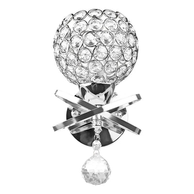 Louxor Crystal - Wall Light For Bedroom