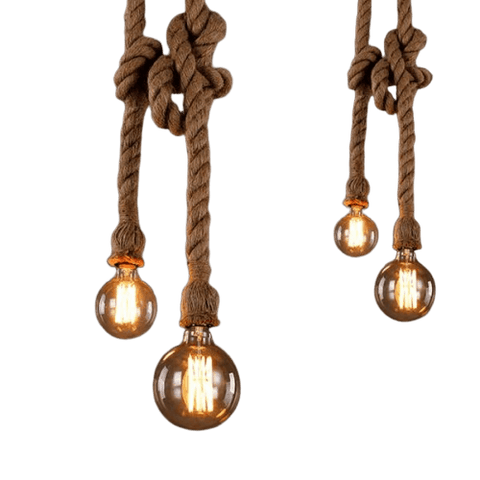 Pendant Light With Rope - Fammel