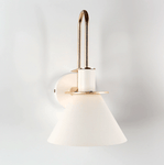Oklak White - Light Fixture On Wall
