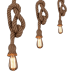 Fammel - Pendant Light With Rope
