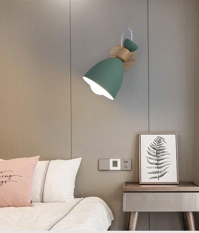 Klok Green - Wall Mounted Reading Light