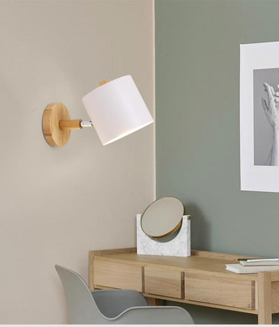 Ropla White - Wall Mounted Reading Light