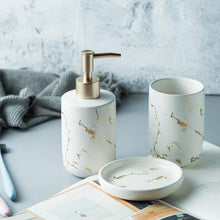 Load image into Gallery viewer, Snöbad - Bathroom Set White Accessories