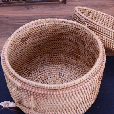 Laskorg - Seagrass Basket With Lid