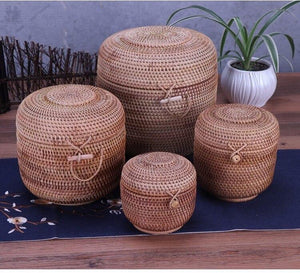 Laundry basket of different size for storage or decorative purpose