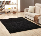 Myküm -  Black Large Living Room Rug