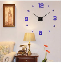 Load image into Gallery viewer, wall clock clock in the wall modern wall clock grandfather clock outdoor clock decorative wall clocks large wall clocks clock mantel clocks digital wall clock oversized wall clocks fancy wall clock oversized clocks large wall clock