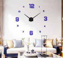 Load image into Gallery viewer, digital wall clock modern wall clock grandfather clock clock in the wall outdoor clock large wall clocks decorative wall clocks mantel clocks wall clock clock oversized clocks oversized wall clocks fancy wall clock large wall clock