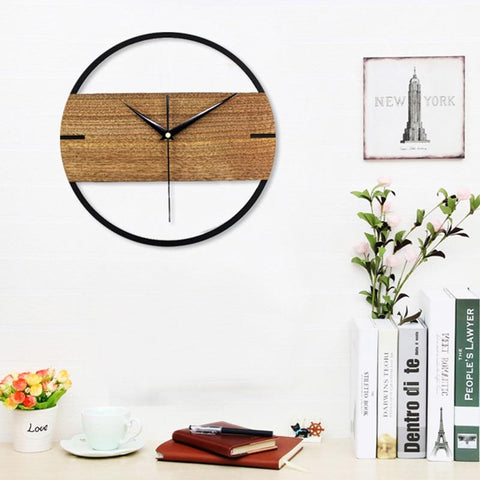 Turliv - Wall Clock In Wood