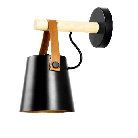 Tioka Black - Wall Light for Gaming Room