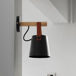 Tioka Black - Wall Light for Sitting Room