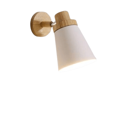 Valka White Adjustable Wall Mounted Reading Light