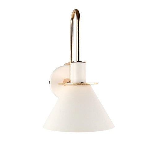Oklak White - Light Fixture For Wall