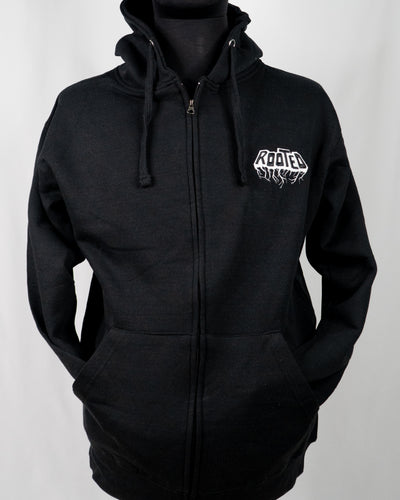 Hooded Zipped Sweatshirt