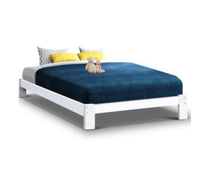 Jade Bed Frame in white
