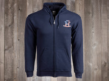 Load image into Gallery viewer, The Rocking Bar H One Nation Under God Zip-Up Hoodie