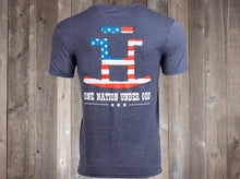 Load image into Gallery viewer, The Rocking Bar H One Nation Under God Men's Tee