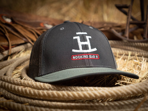 Rocking Bar H Youth Fitted Rancher Hat