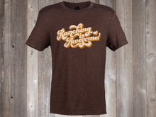 Load image into Gallery viewer, Rocking Bar H Brown Vintage Tee - Ranching is Awesome!