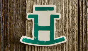 Rocking Bar H Ranch Stickers - SMALL