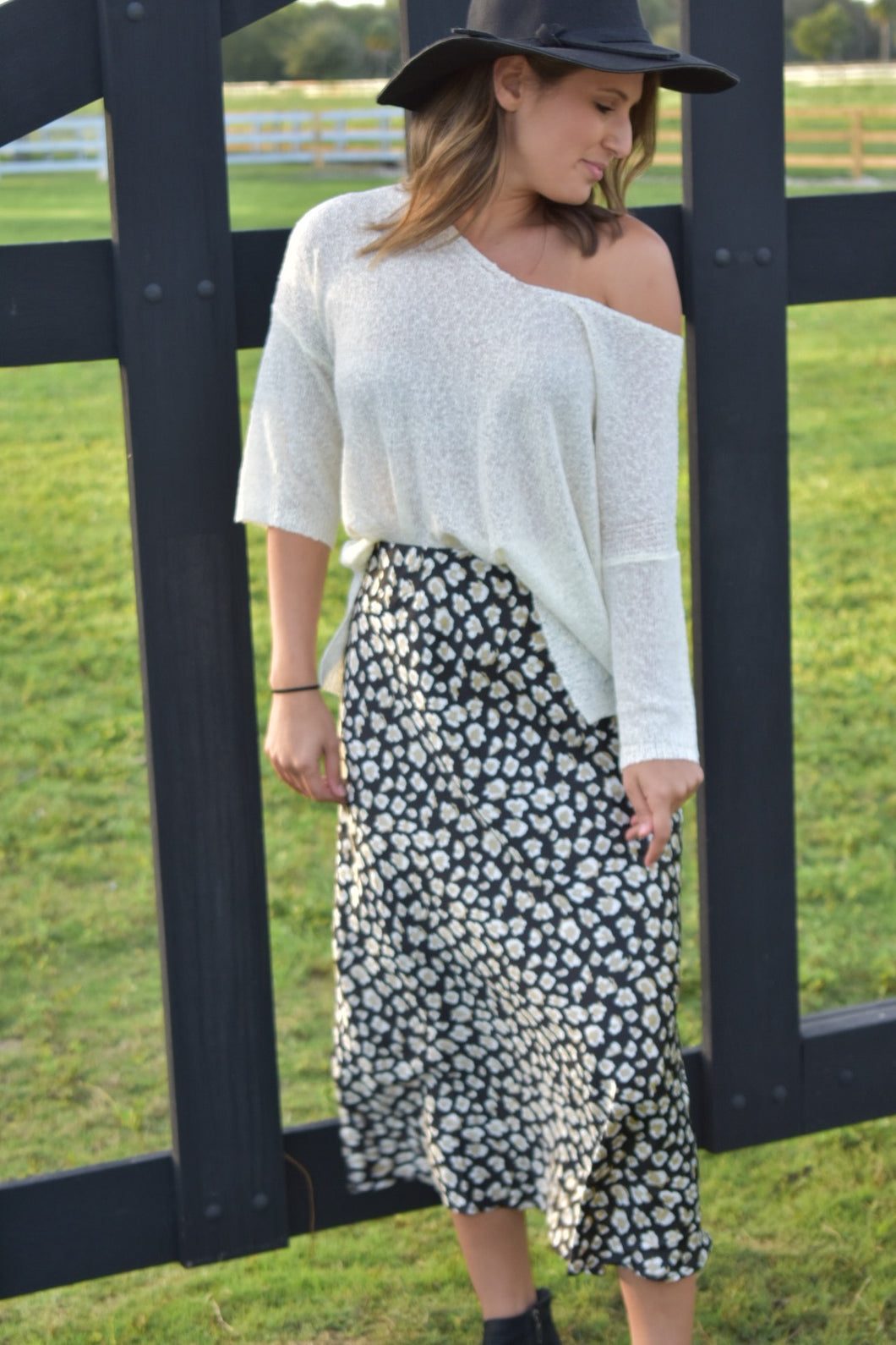 Ivory Summer Sweater