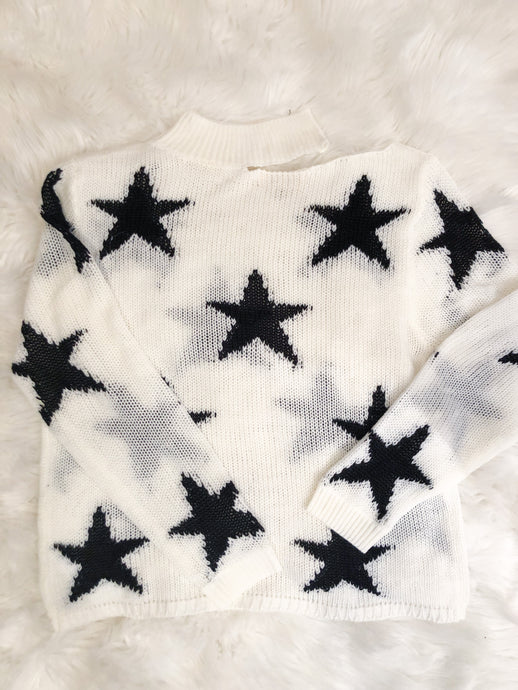 Star Winter Sweater