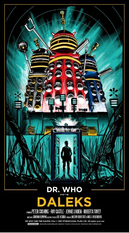 Dr Who & The Daleks