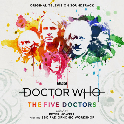 "DR WHO ""FIVE DOCTORS"" VINYL & POSTER BUNDLE"