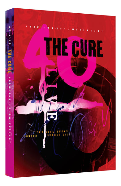 THE CURE: 40 LIVE - CURÆTION-25 + ANNIVERSARY 2DVD Hardbook