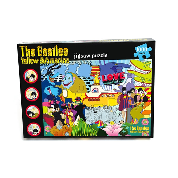 The Yellow Submarine (1000 Piece Jigsaw Puzzle)